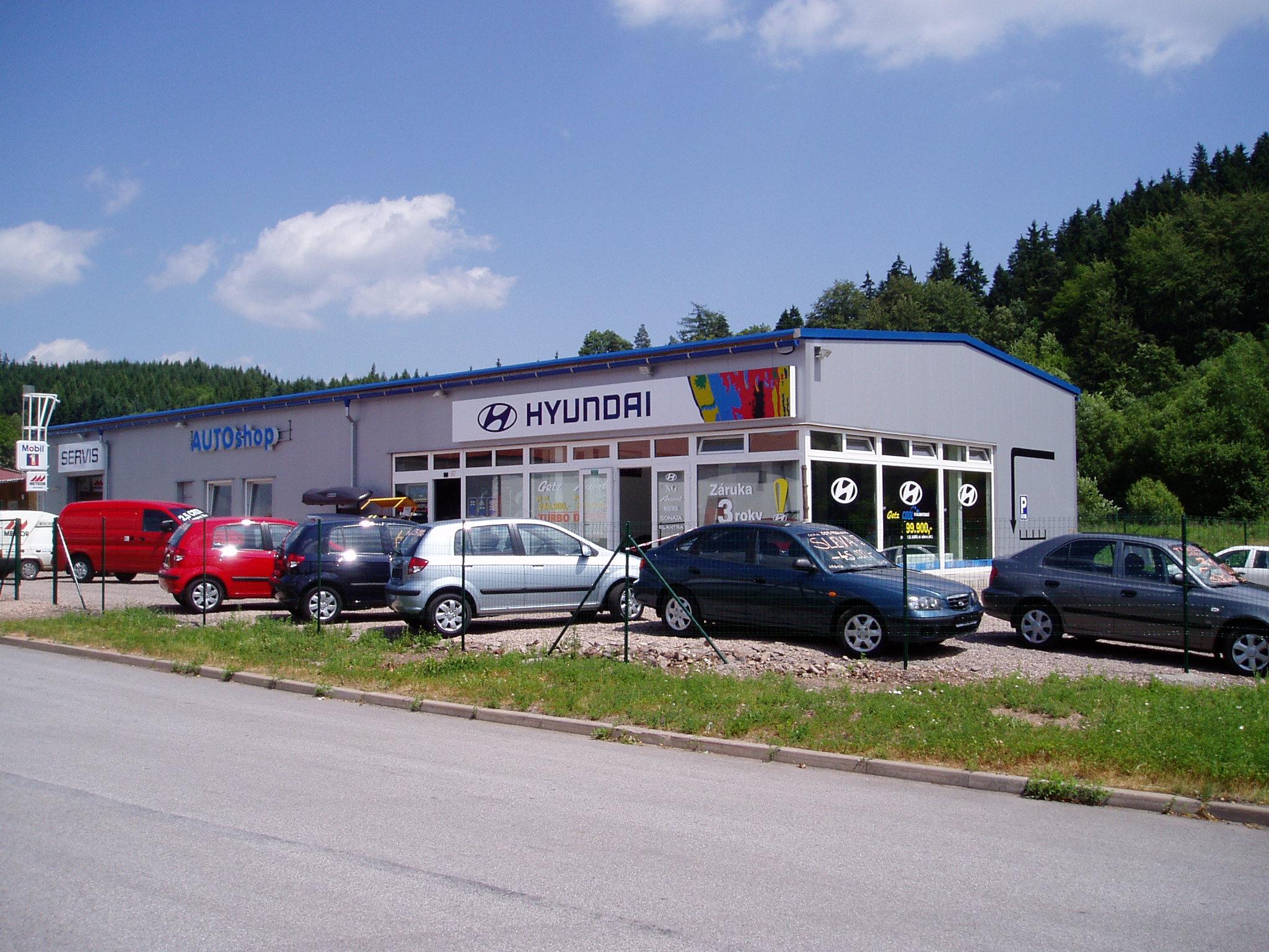 Přístavba autosalonu BOS Trutnov