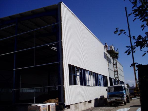 Přístavba ocelové haly Fritzmayer ve Vyškově